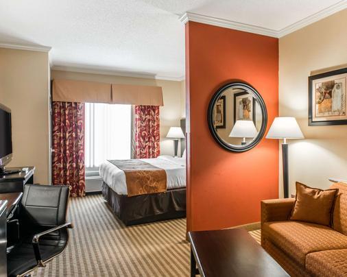 康福特套房酒店 - 巴拿马城/廷德尔 - 巴拿马城 - 睡房