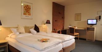 空中瓦尔特堡酒店 - 杜塞尔多夫 - 睡房