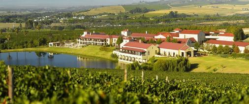 阿萨拉葡萄酒庄园&酒店 - 斯泰伦博斯 - 户外景观