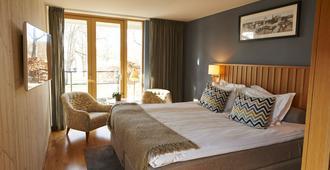 哈根别墅酒店 - 斯德哥尔摩 - 睡房