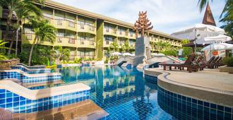 普吉岛海景酒店 - 卡伦海滩 - 游泳池