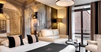 杜克斯酒店 - 第戎 - 睡房