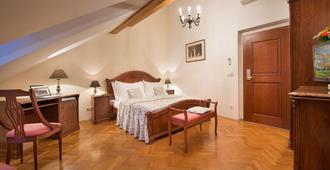 康斯坦斯精品酒店 - 布拉格 - 睡房