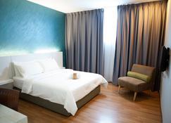 86號酒店 - 民都鲁 - 睡房