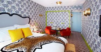 巴黎图米厄酒店 - 巴黎 - 睡房