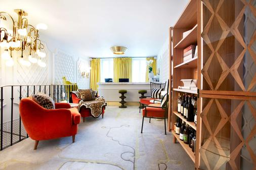 图米厄酒店 - 巴黎 - 客厅