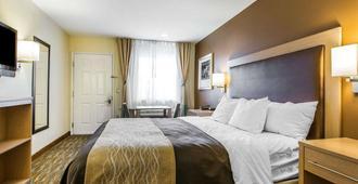 凯富酒店-海滩/栈道区 - 圣克鲁兹 - 睡房