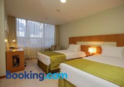 娜鸿酒店 - 巴西利亚 - 睡房