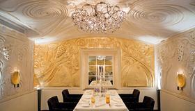 格堤诺山酒店 - 圣莫里茨 - 餐厅