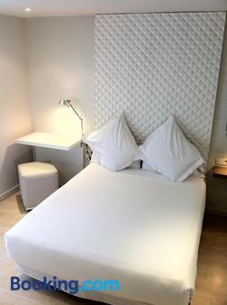 阿托查113号都市海景酒店 - 马德里 - 睡房