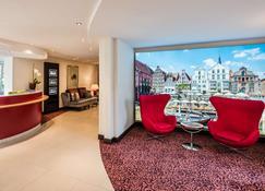 吕讷堡贝斯特韦斯特普拉斯住宅酒店 - 吕内堡 - 大厅