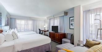 查塔努加市中心万怡酒店 - 查塔努加 - 睡房