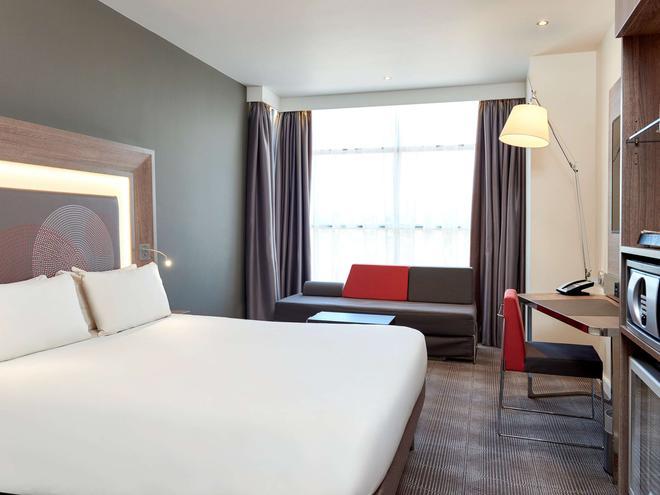 伦敦希思罗机场T1T2和T3诺富特酒店 - 伦敦 - 睡房