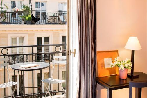 欧洲圣赛维林巴黎酒店 - 巴黎 - 阳台