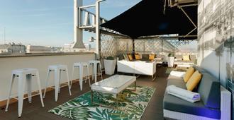 赫斯珀里亚拉科鲁尼亚中心酒店 - 拉科鲁尼亚 - 阳台