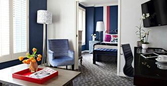 摩纳哥旧金山金普顿酒店 - 旧金山 - 客厅