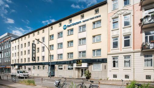 阿尔托那拉斐尔贝斯特韦斯特酒店 - 汉堡 - 建筑