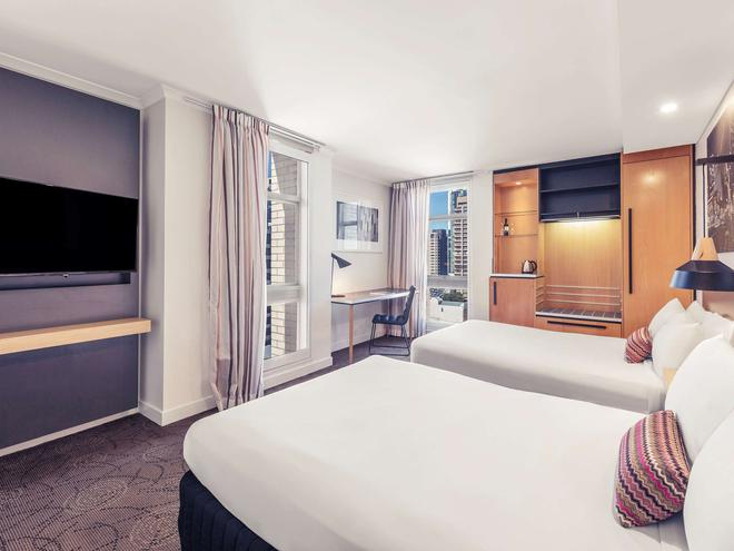 布里斯班乔治国王广场美居酒店 - 布里斯班 - 睡房