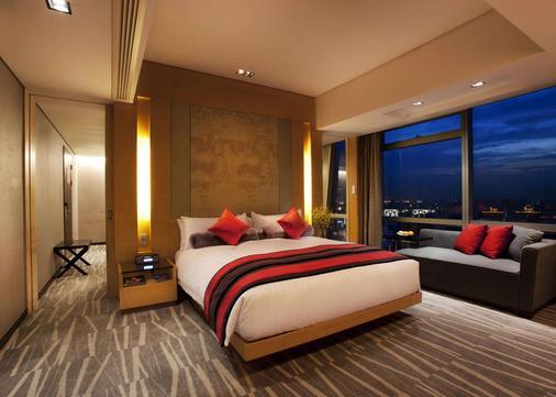 龍之夢麗晶酒店上海 - 上海 - 睡房