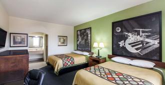 休斯敦霍比机场南速8酒店 - 休斯顿 - 睡房