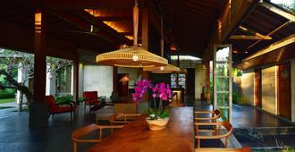 巴厘岛查彭度假别墅 - 乌布 - 大厅
