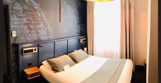 格拉斯林贝斯特韦斯特酒店 - 南特 - 睡房