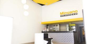 米诺艾诺快捷酒店 - 阿雷格里港 - 柜台