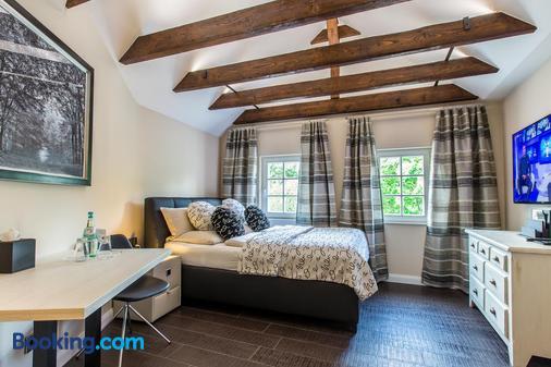 阿德尔霍夫公寓式酒店 - 奥斯纳布吕克 - 睡房