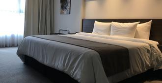 水晶塔酒店 - 蒙得维的亚 - 睡房