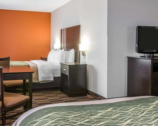 莫米康福特茵酒店 - 派瑞思伯格区 - 莫米 - 睡房