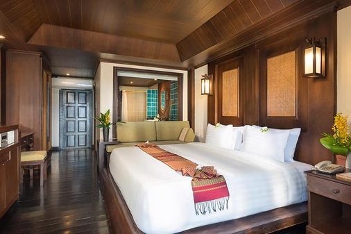 潘威曼帕岸岛度假酒店 - 帕岸岛 - 睡房