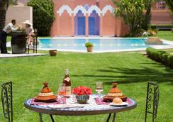 宜必思马拉喀什中心站酒店 - 马拉喀什 - 游泳池