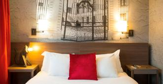 阿德吉奥巴塞尔城市酒店 - 巴塞尔 - 睡房