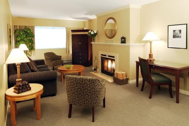 斯坦利罗斯伦套房酒店 - 温哥华 - 客厅