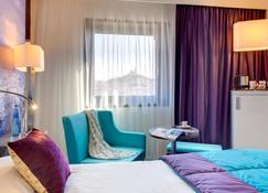 马赛市中心旧港美居酒店 - 马赛 - 睡房