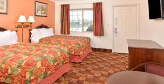 克拉马斯瀑布美国最有价值旅馆 - 克拉马斯福尔斯 - 睡房