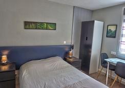 勒贝尔维尤酒店 - 凯恩 - 睡房