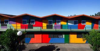 波斯特拉酒店 - 圣地亚哥-德孔波斯特拉 - 建筑