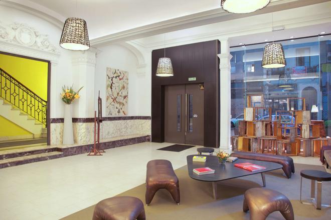 温德姆蒙得维的亚赛万提斯壮丽酒店 - 蒙得维的亚 - 大厅