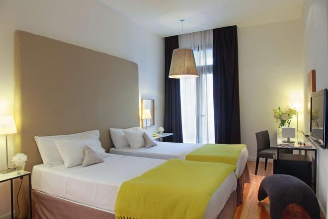 温德姆蒙得维的亚赛万提斯壮丽酒店 - 蒙得维的亚 - 睡房