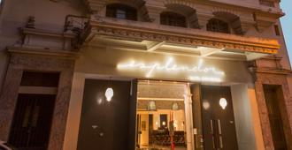 温德姆蒙得维的亚赛万提斯壮丽酒店 - 蒙得维的亚 - 建筑
