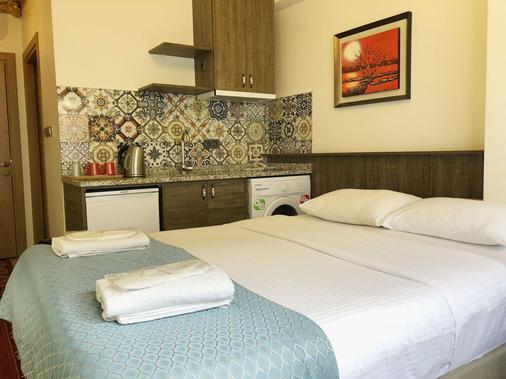 博兰西科套房酒店 - 伊斯坦布尔 - 睡房