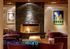 阿罗萨霍夫马兰高尔夫运动酒店 - 阿罗萨 - 休息厅