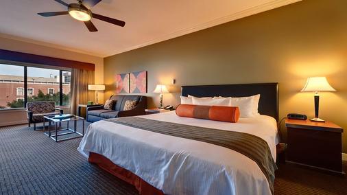 温德姆港灯光酒店 - 圣地亚哥 - 睡房
