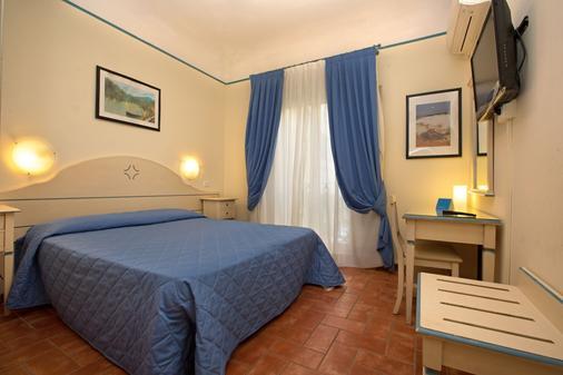 克罗希尼酒店 - 佛罗伦萨 - 睡房