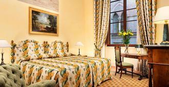 锡耶纳欧陆大酒店 - 锡耶纳 - 睡房