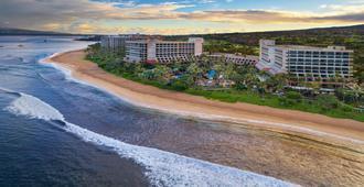 毛伊岛海洋俱乐部-摩洛凯、毛伊及拉奈别墅万豪假日俱乐部度假酒店 - 拉海纳 - 户外景观