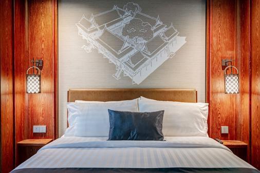 斯考酒店 - 曼谷 - 睡房