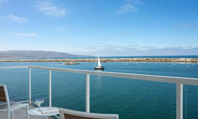 菲诺港滨海酒店-贵族之家 - 雷东多海滩 - 阳台
