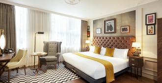 英国皇家王子街酒店 - 爱丁堡 - 睡房